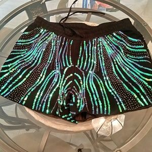 Ark & Co Sexy  Sequined Short